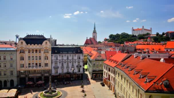 historické centrum bratislava