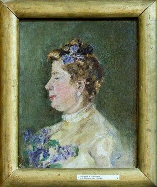 E.I.Steblovoy portrait