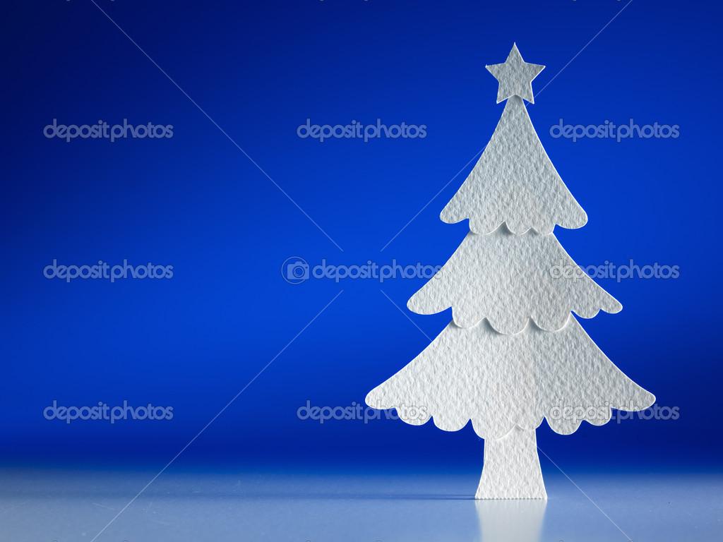 weihnachtsbaum scherenschnitt stockfoto 19148095. Black Bedroom Furniture Sets. Home Design Ideas