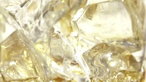 Zár megjelöl kilátás cola háttérben jégkockát