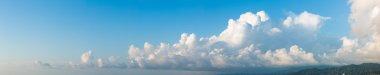 Cloudscape horizontal banner