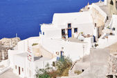 Photo View of Fira town - Santorini Greece