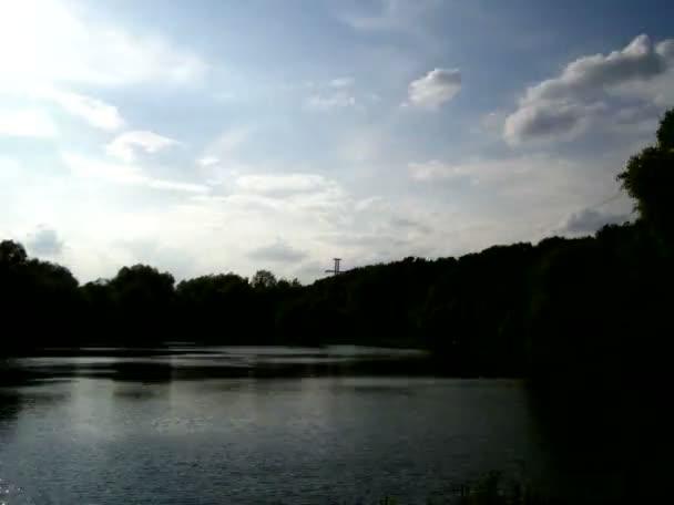 Pond sky timelapse