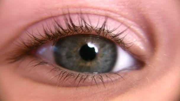 dětské oko makro