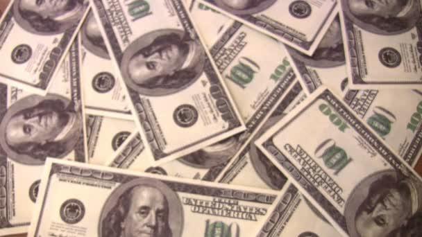 hrabě dolarů v rukou na dolar pozadí