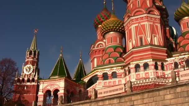Moskva, Rusko - 10 října: věž. kostel. posouvání. říjen 10, 2008 v Moskvě, Rusko