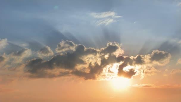 Sunrise, sky, clouds
