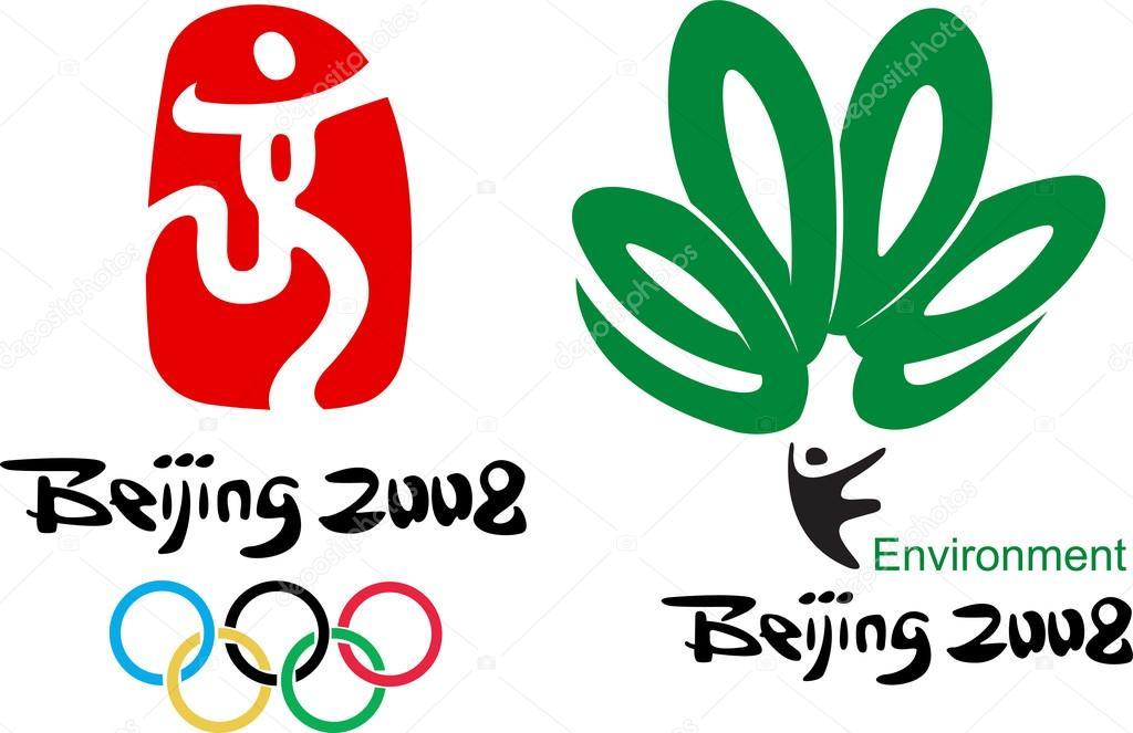 Beijing Olympic 2008 Logo Vector Stock Vector Pahal 16778861
