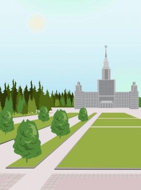 Moscow university vector