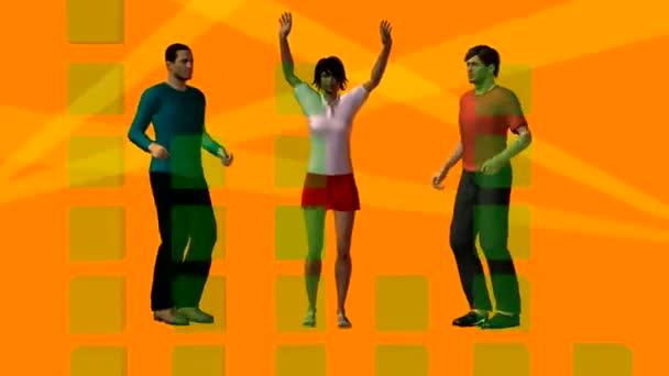 tre persone danzanti