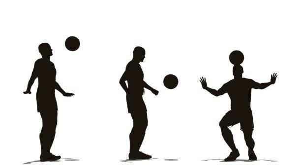 A labdát a három futballista