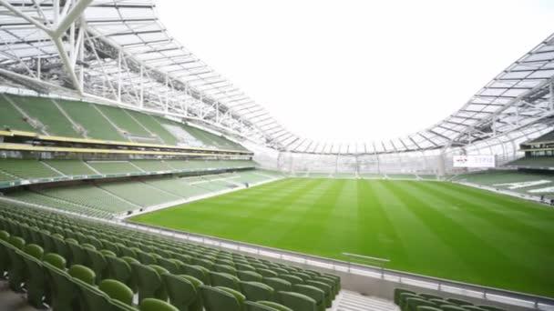 vyvážení Prázdný stadion aviva v Dublinu, Irsko