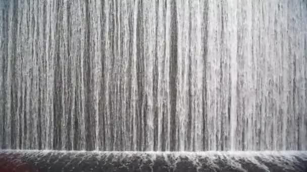 chiudere il colpo sulla cascata artificiale coperta
