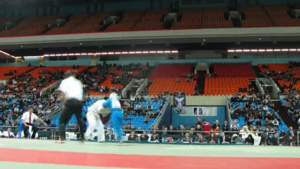 Referee judge fight during Kudo World Cup