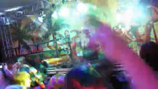 Az emberek tánc party Night animáció 2 x 2