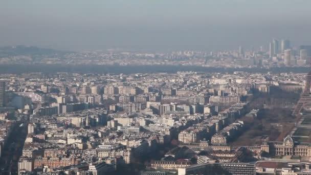Paris z leva do prava od věže montparnasse