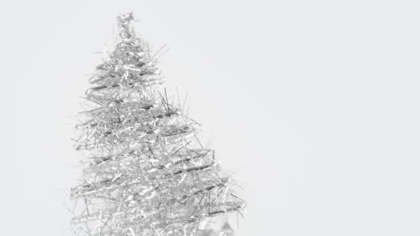 detail otočné vánoční stromeček vyrobené z kejklířů