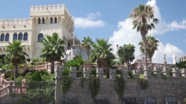 Central gate in medieval castle