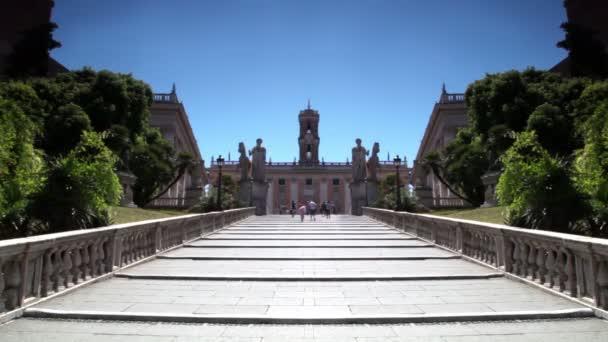 obecné kroky cordonata schodiště