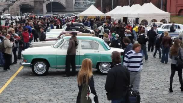 otevření sezóny rally na klasické automobily