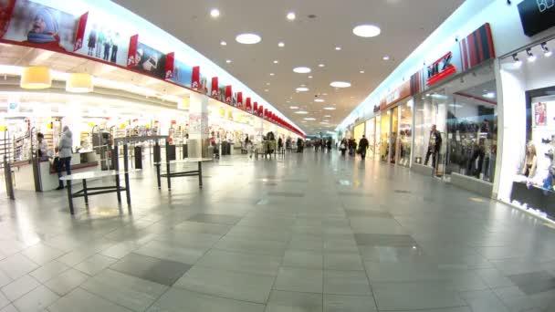 kupující přijít a odejít z obchodní centrum ashantroika