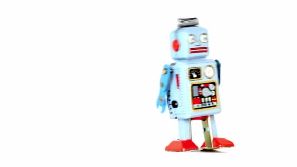 Simple toy robot walk at one place
