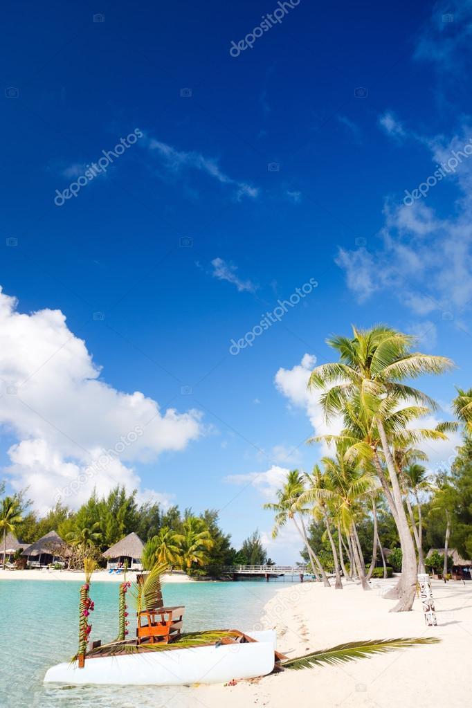 Фотообои Perfect beach on Bora Bora