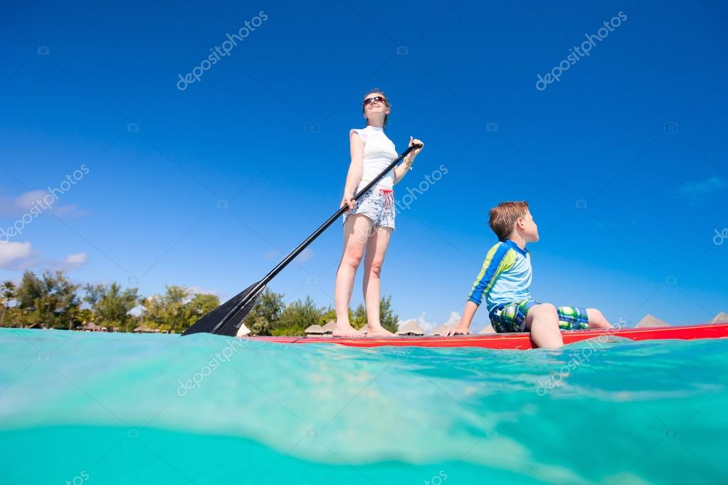 Family water activity