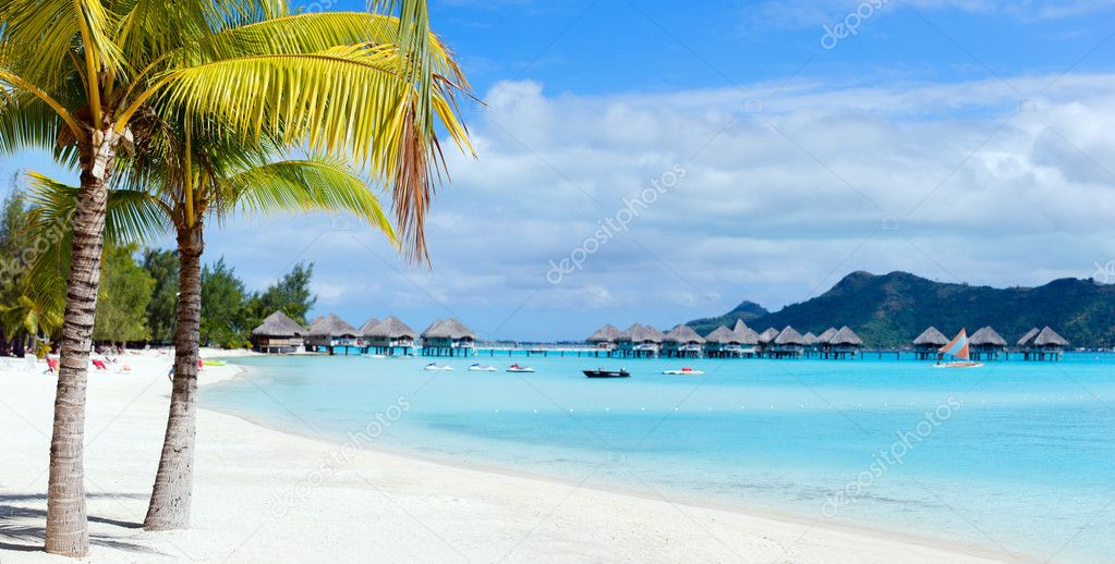 Фотообои Bora Bora landscape