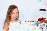 Fényképek kis tündér a születésnapi party