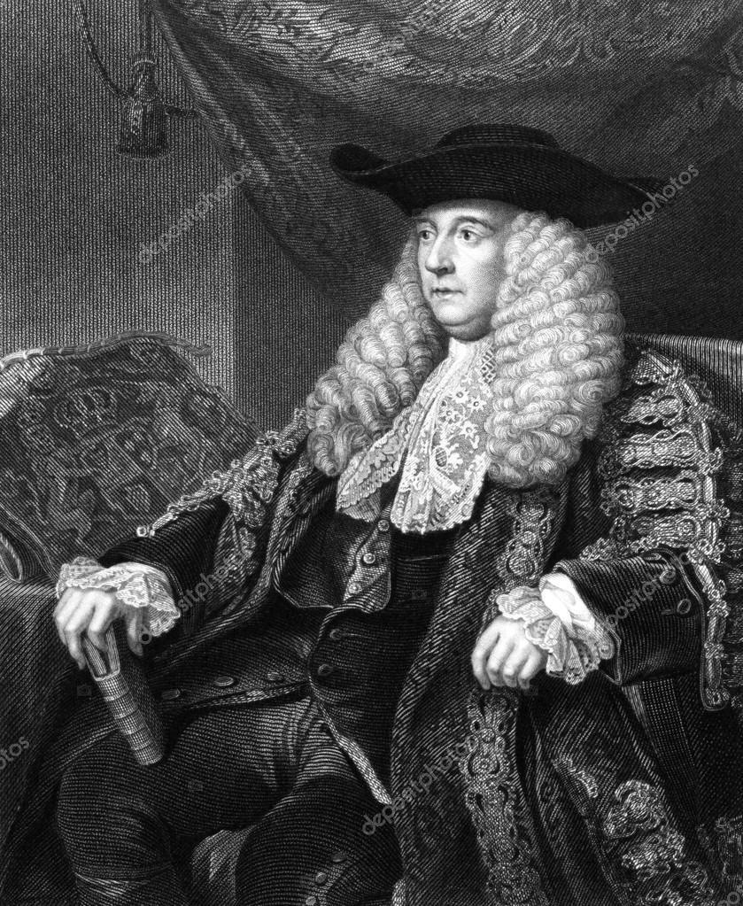 Charles Pratt, 1. Earl Camden — Stockfoto © georgios #30279239