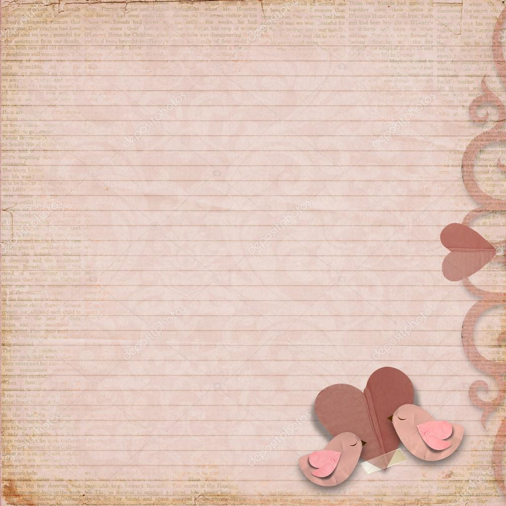 vintage valentine background valentines - photo #14