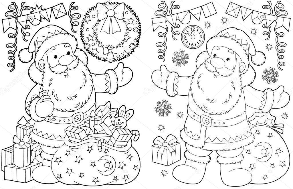 Babbo Natale E Regali Di Natale Foto Stock Alexbannykh 13633128