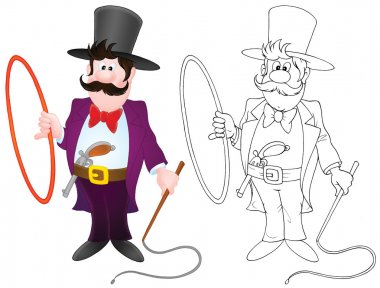 Ringmaster of circus
