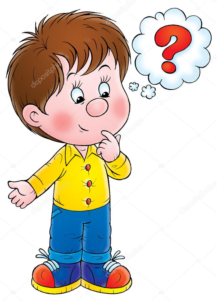 curious little boy thinking stock photo alexbannykh 31115297 rh depositphotos com  free clipart child thinking