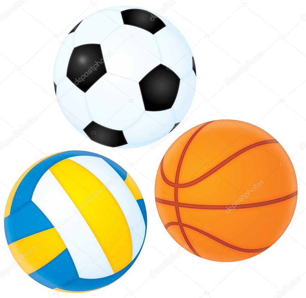 Resultado de imagen de baloncesto, futbol voley