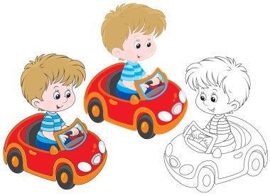 Boy driver
