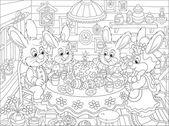 Velikonoční Zajíčci na slavnostní stůl