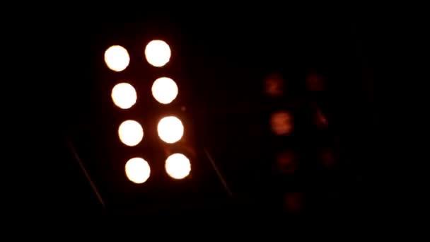 abstraktní disco světla v noci