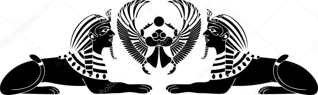 старше египет картинки черно-белые на прозрачном фоне клада