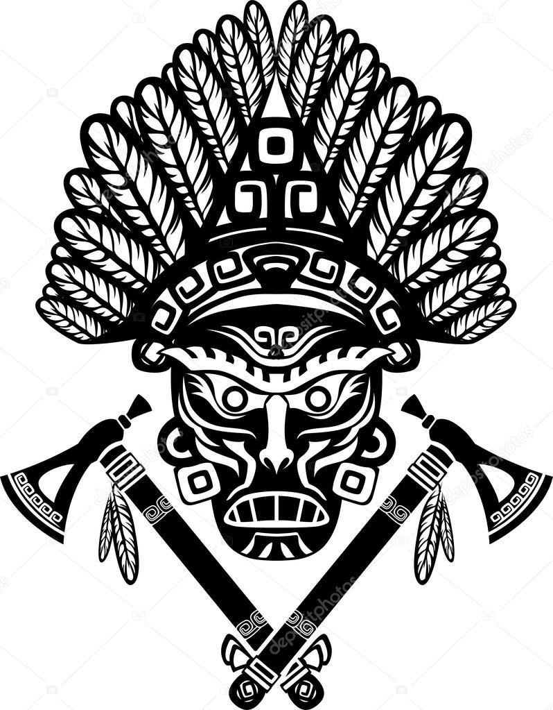 アメリカ ・ インディアンのマス...