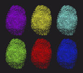 Fotografia impronte colorate