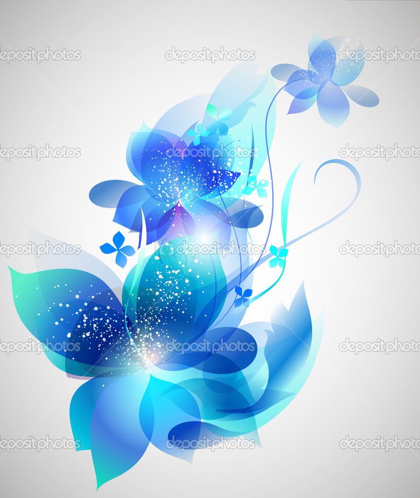 Vector beautiful flower background art stock vector itmuryn vector beautiful flower background art stock vector izmirmasajfo