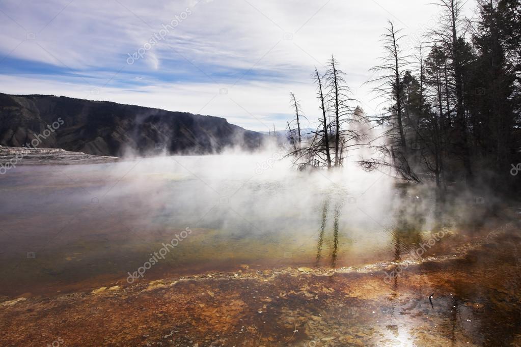 The geothermal lake