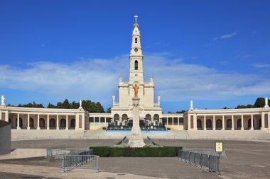 The religious complex Portuguese town of Fatima