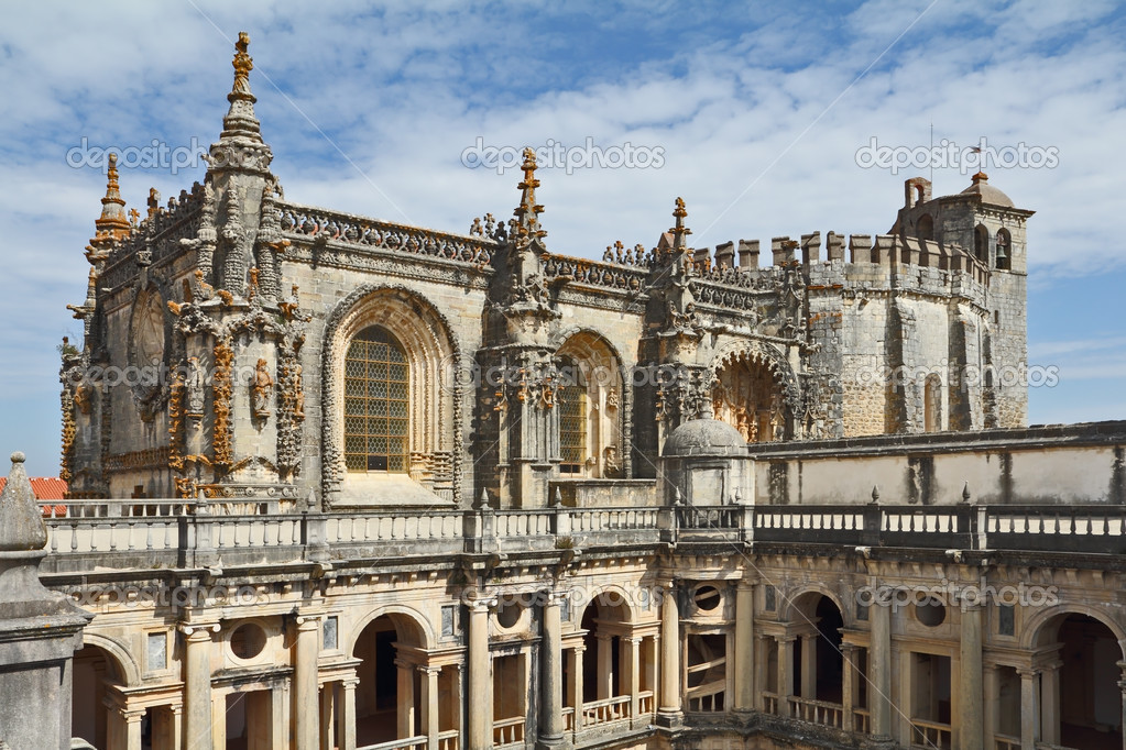 The monastery-fortress of the Knights Templar