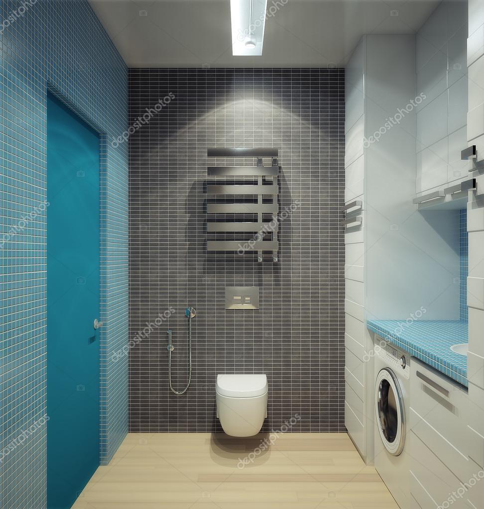 Bathhroom im neu umgebauten Haus — Stockfoto © shivanetua #24068383