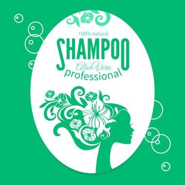Shampoo women label