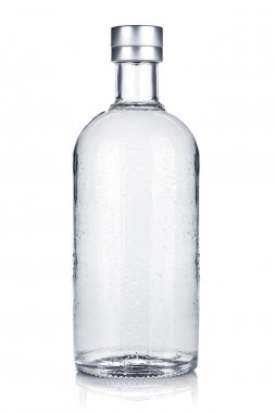 Bottle of russian vodka