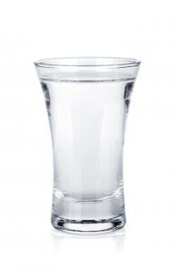 Shot of russian vodka